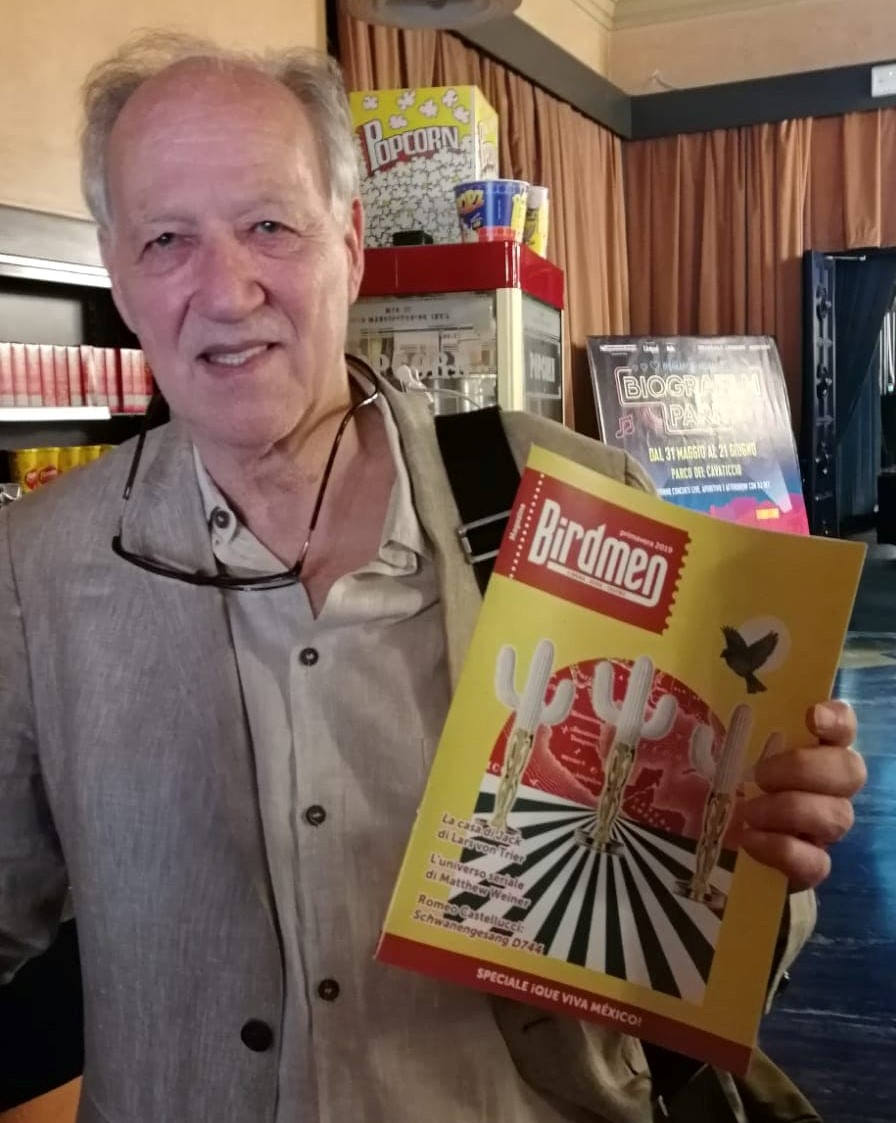 Werner Herzog Birdmen Magazine