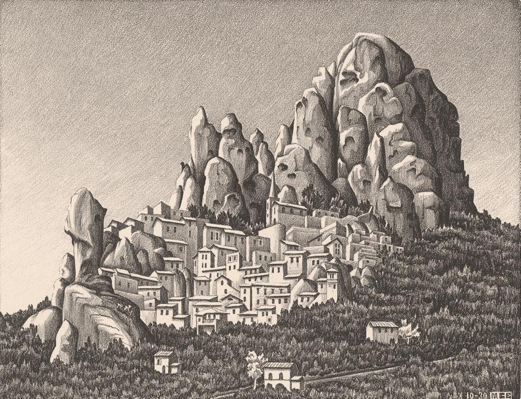 maurits-cornelis-escher-pentedattilo-calabria-1930-collezione-federico-giudiceandrea-c2a9-2014-the-m-c-escher-company-all-rights-reserved