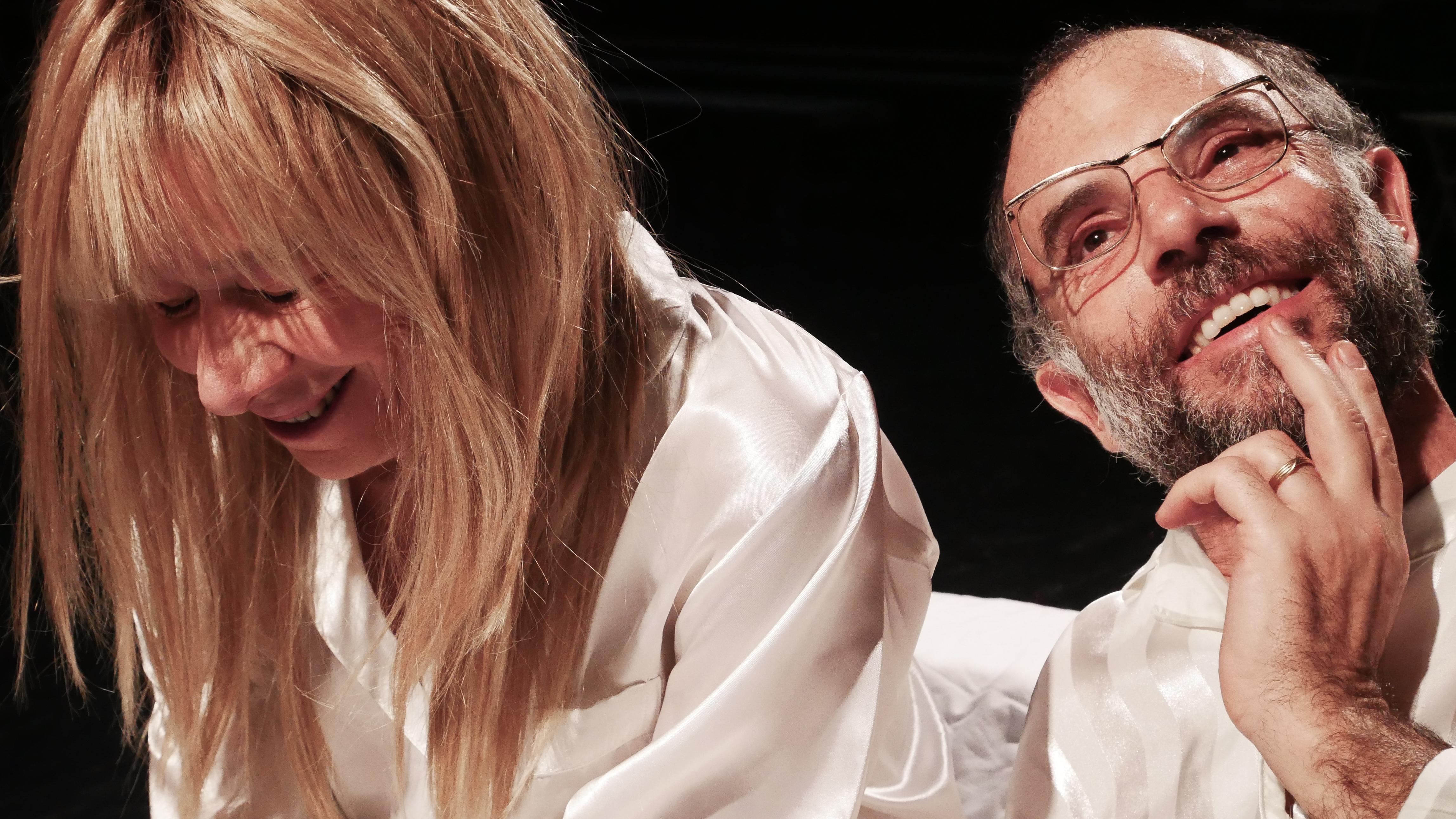 3 Sleepless di C. Churchill regia Lorenzo Loris nella foto Elena Callegari, Mario Sala, Ph Davide Pinardi