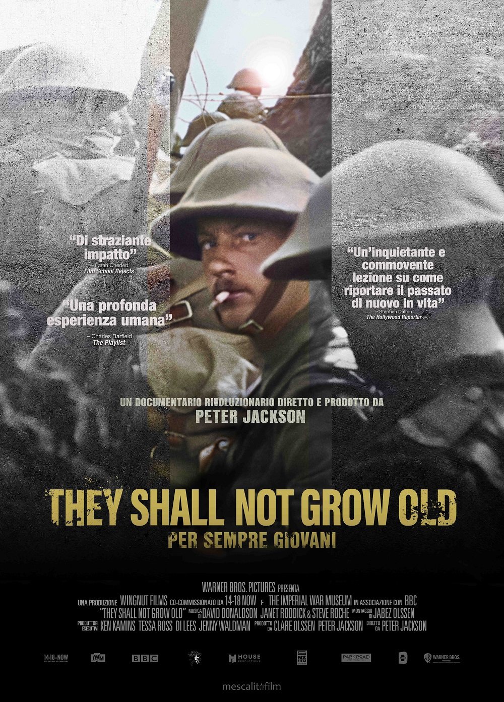 they shall not grow old poster italia