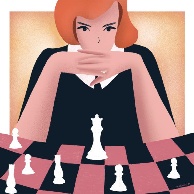 Sara Hailoua - The Queen's Gambit (2020)