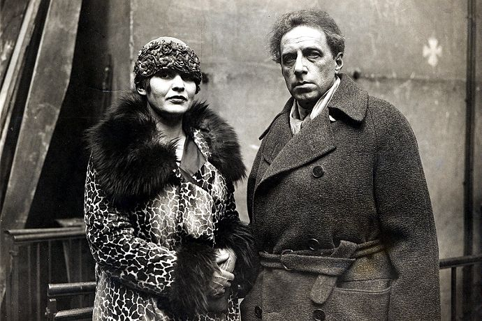 Mejerchol'd e la moglie Zinaida Rajch