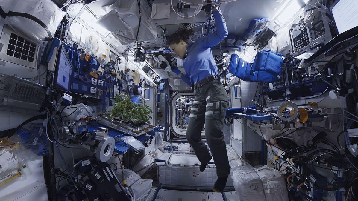 The ISS esplorers VR