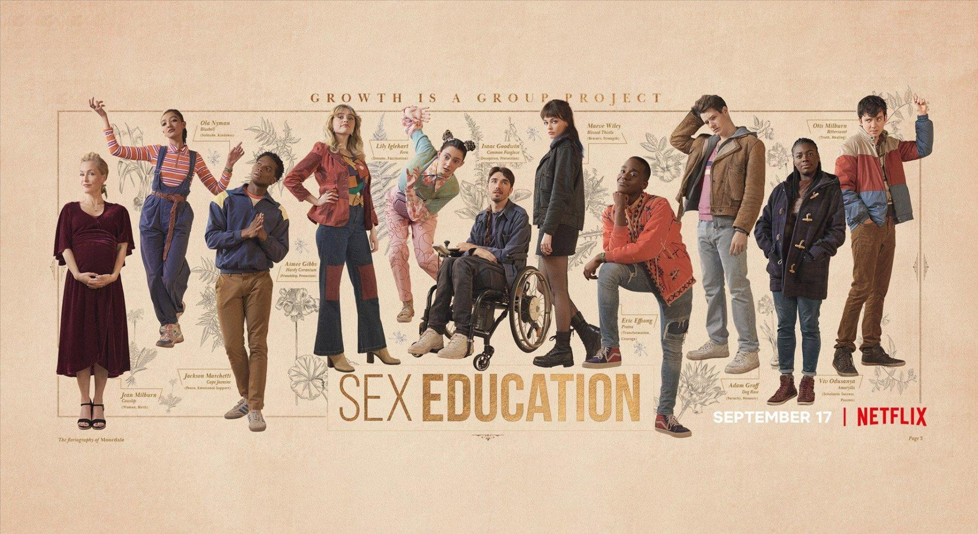 sex education 3 poster