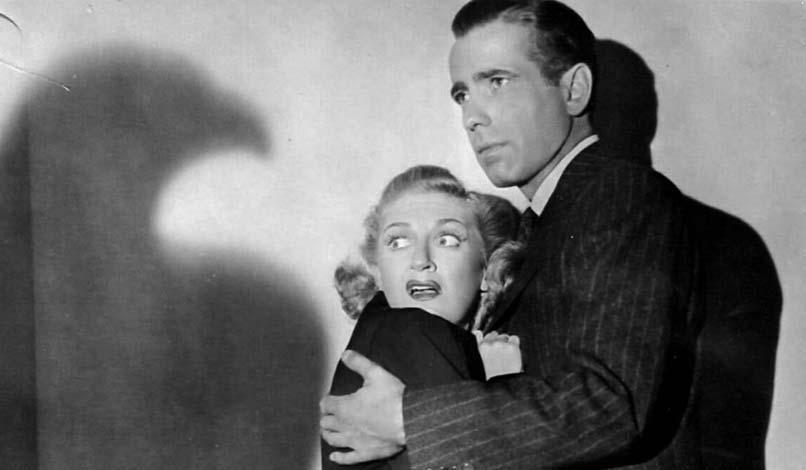 Mary Astor e Humphrey Bogart il mistero del falco