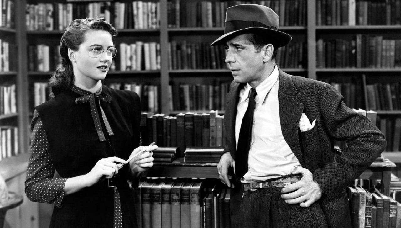 Mary Astor e Humphrey Bogart il mistero del falco john huston
