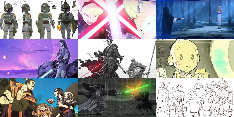 star-wars-visions-collage